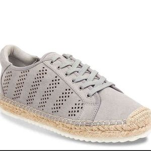 Marc Fisher Shoes - Marc Fisher Gray Espadrille Sneaker Size 8.5